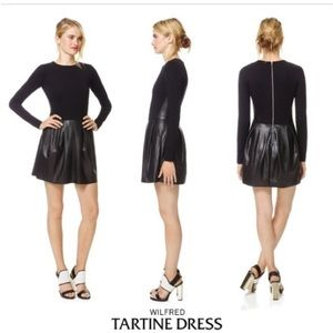 Wilfred Tartine Dress Vegan Leather